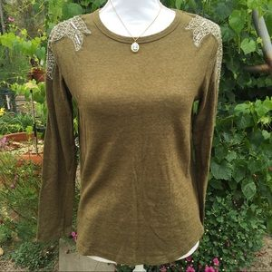 Zara Embellished Beaded Sweater